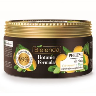 Bielenda Botanic Formula, peeling do ciała, cytrynowiec i mięta, 350 g - zdjęcie produktu