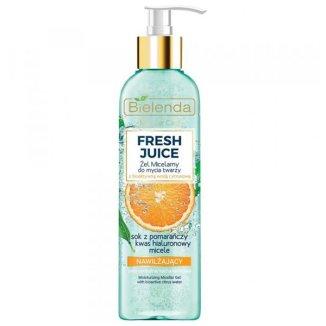 Bielenda Fresh Juice, nawilżający żel micelarny, pomarańcza, 190 g - zdjęcie produktu