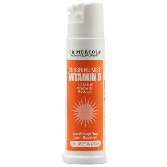 Dr. Mercola Witamina D3, spray o smaku pomarańczowym, 25 ml - zdjęcie produktu