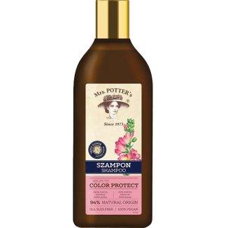 Mrs Potter's, szampon do włosów farbowanych, ochrona koloru, 390 ml - zdjęcie produktu