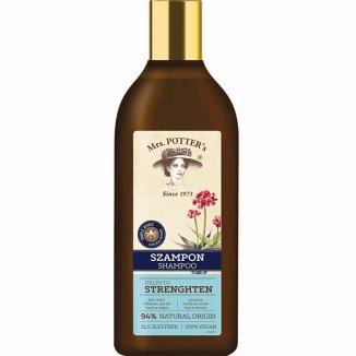 Mrs Potter's, szampon do włosów cienkich, żeń-szeń, różeniec górski, czarna rzepa, 390 ml - zdjęcie produktu