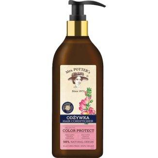 Mrs Potter's, odżywka do włosów farbowanych, dzika malwa, hibiskus, fiołek polny, 390 ml - zdjęcie produktu