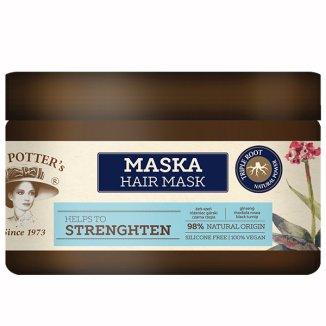 Mrs Potter's Triple Root, wzmacniająca maska do włosów, 230 ml - zdjęcie produktu