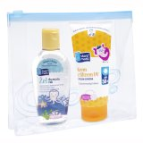 Skarb Matki, żel do mycia rąk, 80 ml + krem z filtrem, od 1 miesiąca, SPF50 +, 75 ml - miniaturka zdjęcia produktu