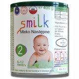Smilk 2, mleko następne, 6-12 miesięcy, 400 g - miniaturka zdjęcia produktu