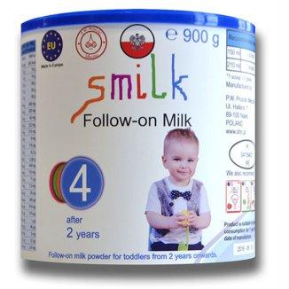 Smilk 4, mleko modyfikowane, powyżej 2 roku, 900 g - zdjęcie produktu