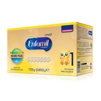 Enfamil Premium 1, mleko początkowe, od urodzenia, 1700 g - zdjęcie produktu
