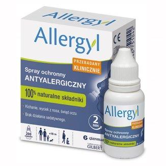 Allergyl, spray ochronny antyalergiczny, 200 dawek - zdjęcie produktu