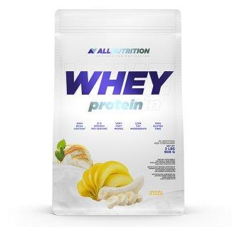 Allnutrition, Whey Protein, białko, smak bananowy, 908 g - zdjęcie produktu
