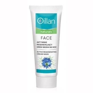 Oillan Naturals, krem-maska do twarzy, regenerująca, 50 ml - zdjęcie produktu