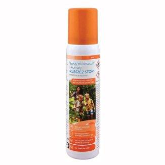 Sanity Kleszcz Stop, spray na kleszcze i komary, 100 ml - zdjęcie produktu