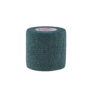 5E, bandaż kohezyjny Non-Woven Economic, lateksowy, ciemnozielony, 5 cm x 4,5 m - zdjęcie produktu