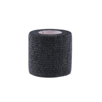 5E, bandaż kohezyjny Non-Woven Economic, lateksowy, czarny, 5 cm x 4,5 m - zdjęcie produktu