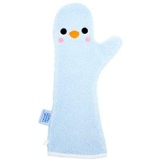 Baby Shower Glove, rękawiczka antypoślizgowa pod prysznic, niebieska, 1 sztuka - zdjęcie produktu