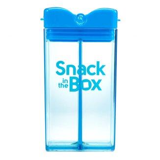 SNACK IN THE BOX, pojemnik na przekąski, niebieski, 355 ml - zdjęcie produktu