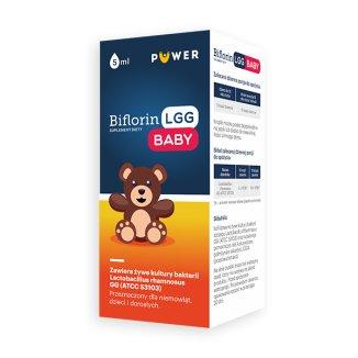 Biflorin LGG Baby, krople, 5 ml - zdjęcie produktu