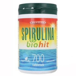 Biohit Spirulina, 700 tabletek - zdjęcie produktu