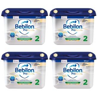Zestaw Bebilon Profutura 2, mleko następne, po 6 miesiącu, 4 x 800 g - zdjęcie produktu
