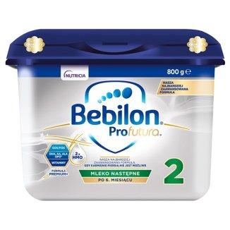 Zestaw Bebilon Profutura 2, mleko następne, po 6 miesiącu, 4 x 800 g - 2 - zdjęcie produktu
