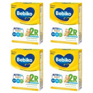 Bebiko 2R, mleko następne, dla niemowląt po 6 miesiącu, 4 x 800 g - zdjęcie produktu