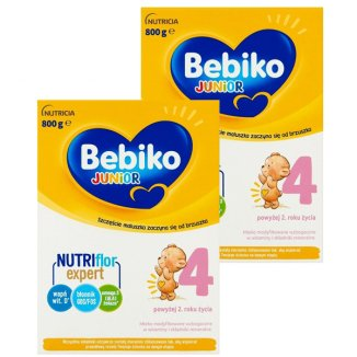 Bebiko 4 Junior, mleko modyfikowane, powyżej 2 roku życia, 2 x 800 g - zdjęcie produktu