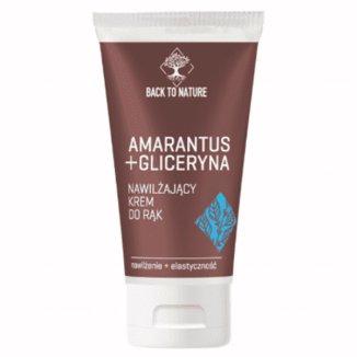 Back To Nature, nawilżający krem do rąk, amarantus + gliceryna, 75 ml - zdjęcie produktu