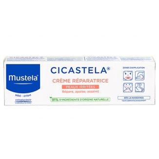 Mustela Cicastela, krem regeneracyjny od 1 dnia życia, 40 ml - zdjęcie produktu