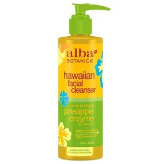 Alba Botanica, hawajski żel do mycia twarzy, enzymatyczny ananas, 237 ml - zdjęcie produktu