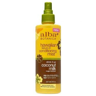 Alba Botanica, hawajska mgiełka do włosów, kokosowe mleczko, 237 ml - zdjęcie produktu