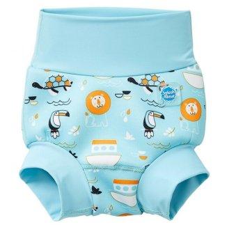 Splash About, Happy Nappy, pieluszka do pływania, Arka Noego, 6-12 miesięcy, rozmiar L, 1 sztuka - zdjęcie produktu