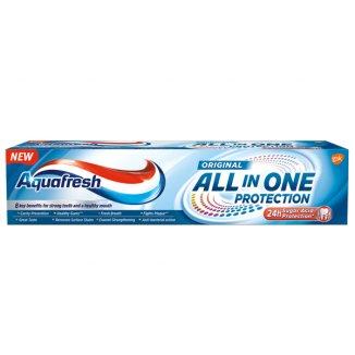 Aquafresh, All In One Protection Original, pasta do zębów,  100 ml - zdjęcie produktu