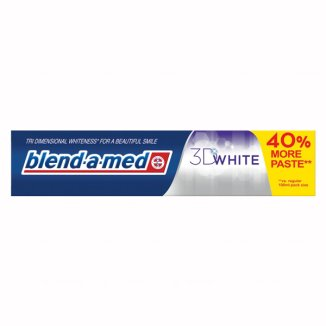 Blend-a-med, pasta do zębów 3D White, 140 ml - zdjęcie produktu