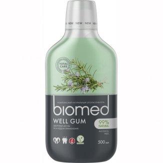 Biomed Well Gum, płyn do płukania jamy ustnej, bez fluoru, 500 ml - zdjęcie produktu