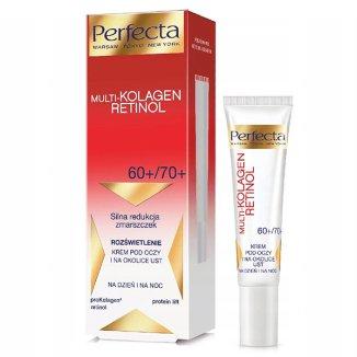DAX Perfecta Multi Kolagen Retinol, krem pod oczy i okolice ust, na dzień, 15 ml - zdjęcie produktu
