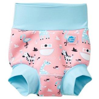 Splash About, Happy Nappy, pieluszka do pływania, Arka Niny, 6-12 miesięcy, rozmiar L, 1 sztuka - zdjęcie produktu