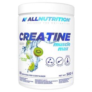 Allnutrition, Creatine, Muscle Max, kreatyna, monohydrat, kiwi, 500 g - zdjęcie produktu