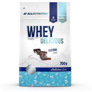 Allnutrition, Whey Delicious, białko, smak czekoladowy, 700 g - zdjęcie produktu