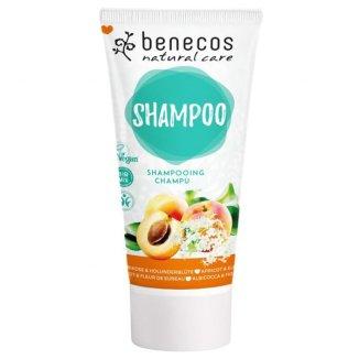 Benecos, naturalny szampon do włosów, morela i kwiat czarnego bzu, 200 ml - zdjęcie produktu