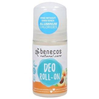 Benecos, naturalny dezodorant roll-on, morela i kwiat czarnego bzu, 50 ml - zdjęcie produktu
