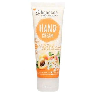 Benecos, naturalny krem do rąk, morela i kwiat czarnego bzu, 75 ml - zdjęcie produktu
