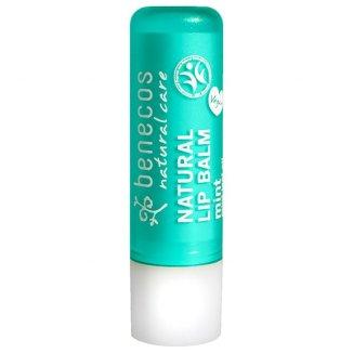 Benecos, naturalny balsam do ust, mięta, 4,8 g - zdjęcie produktu