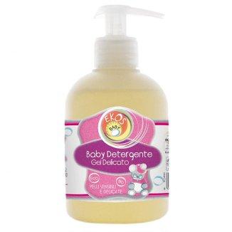 Ekos Baby, żel oczyszczający do rąk i higieny intymnej dla niemowląt, z ekstraktem z owsa, 300 ml - zdjęcie produktu