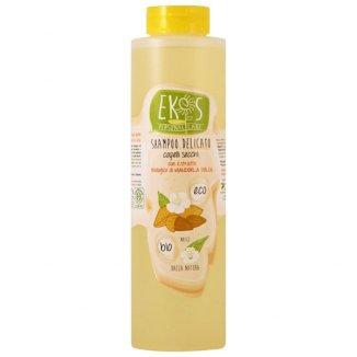 Ekos, szampon do włosów suchych, z ekstraktem z organicznych słodkich migdałów Eco Bio, 500 ml - zdjęcie produktu