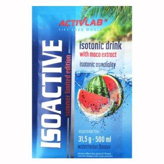 ActivLab Isoactive, koncentrat napoju izotonicznego, smak arbuzowy, 1 saszetka - zdjęcie produktu