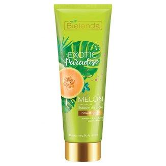 Bielenda Exotic Paradise, balsam do ciała nawilżający, melon, 250 ml - zdjęcie produktu