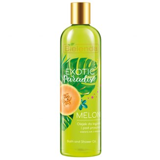 Bielenda Exotic Paradise, olejek do kąpieli i pod prysznic, melon, 400 ml - zdjęcie produktu