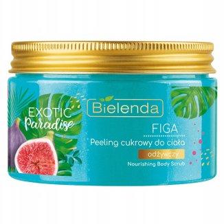 Bielenda Exotic Paradise, odżywczy peeling cukrowy do ciała, figa, 350 g - zdjęcie produktu