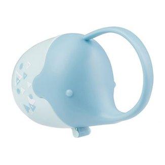 BabyOno, pojemnik na smoczek, słonik, niebieski, 1 sztuka - zdjęcie produktu
