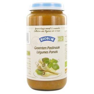 Biobim, Obiadek warzywny ekologiczny BIO, warzywa z pasternakiem, po 12 miesiącu, 250 g - zdjęcie produktu
