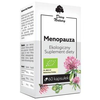 Dary Natury Menopauza, 60 kapsułek - zdjęcie produktu